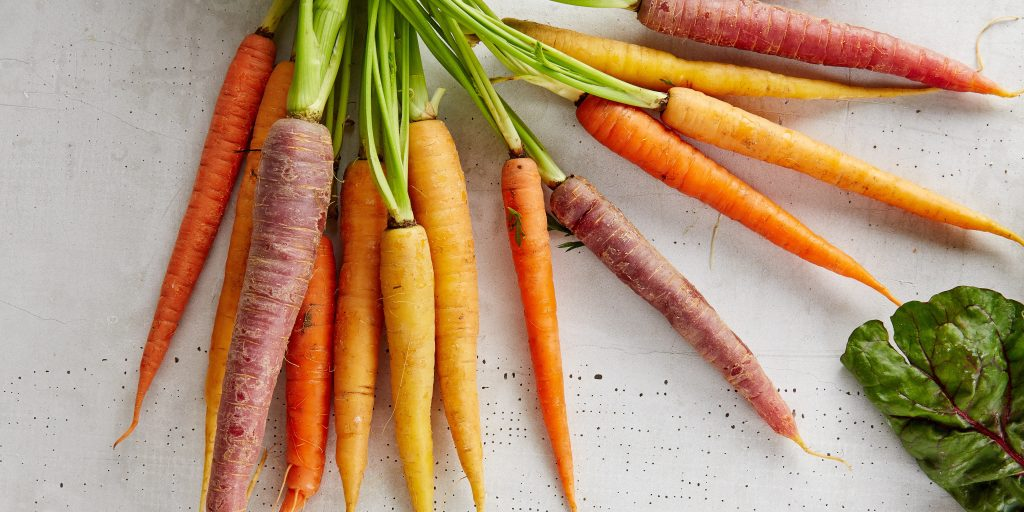 crisp local carrots